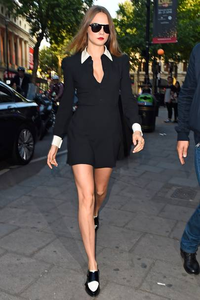 The Tuxedo Mini Dress