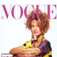 Karen Mulder - Vogue March 1991