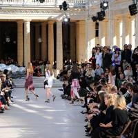 The Isabel Marant runway