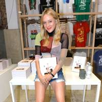 Chloe Sevigny book launch, London - August 22 2015