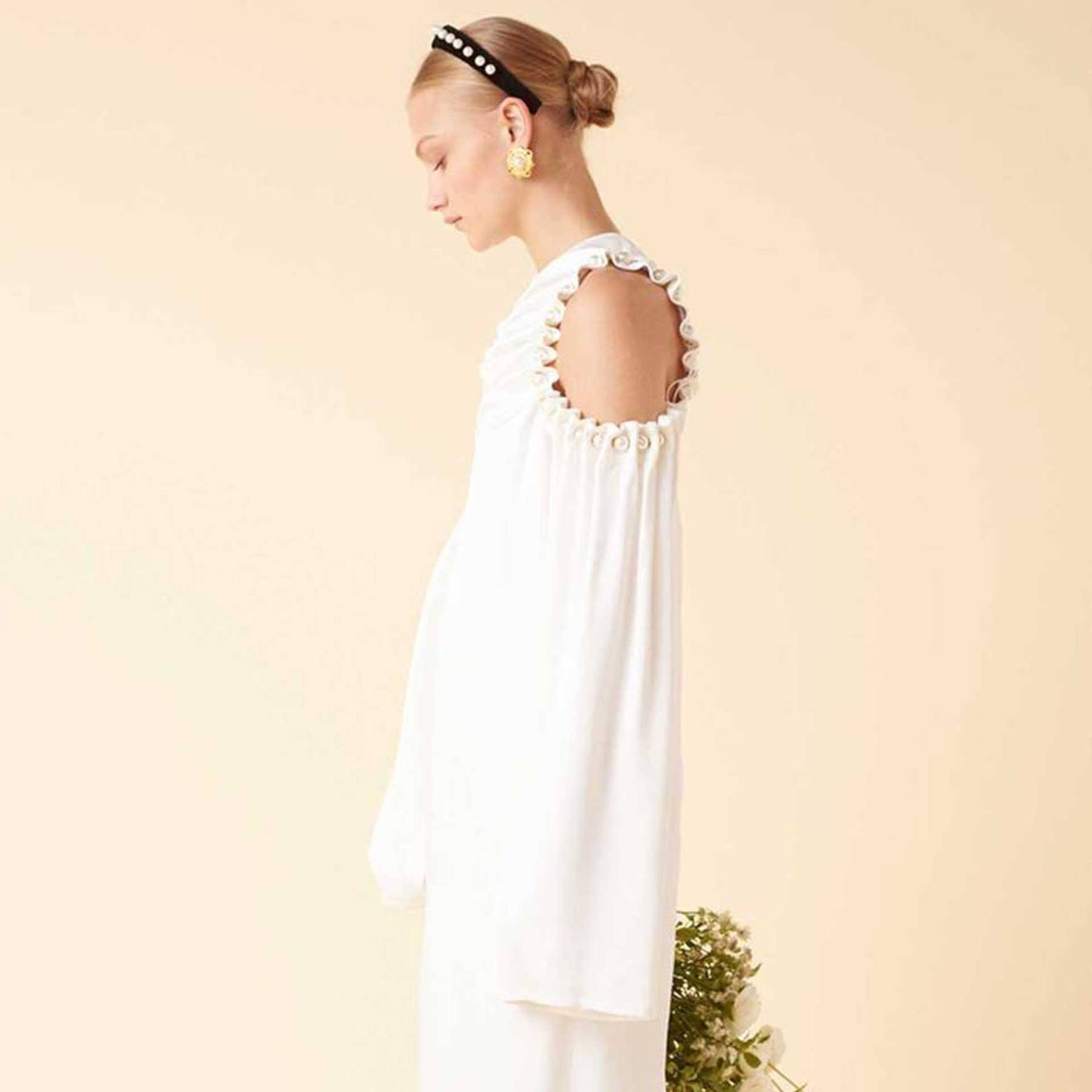 7d3fe1712 Mother Of Pearl Launches Relaxed Wedding Dress Line | British Vogue