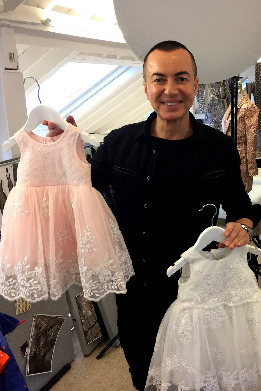 Mothercare collaborating with Julien Macdonald recommendations to wear for autumn in 2019