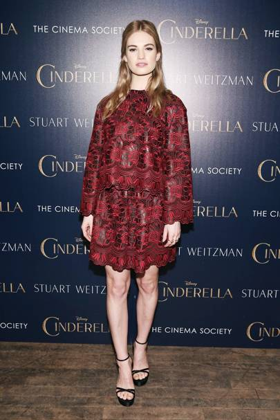 Cinderella screening, New York - March 8 2015