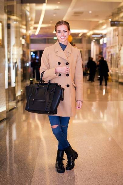 Elle Trowbridge, model