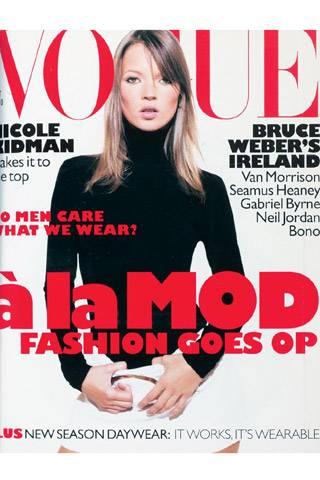 British Vogue, October 1995