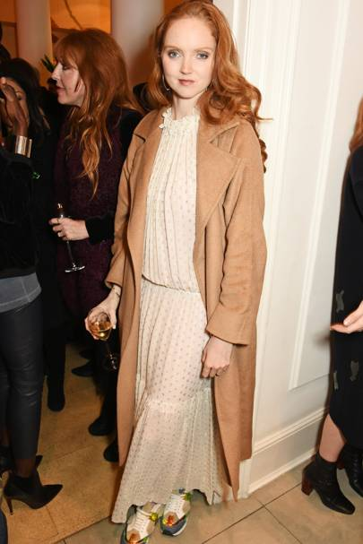 Stella McCartney store Christmas lights switch on, London – November 25 2015