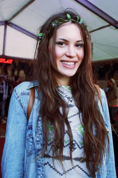 Laura Smiles, barista