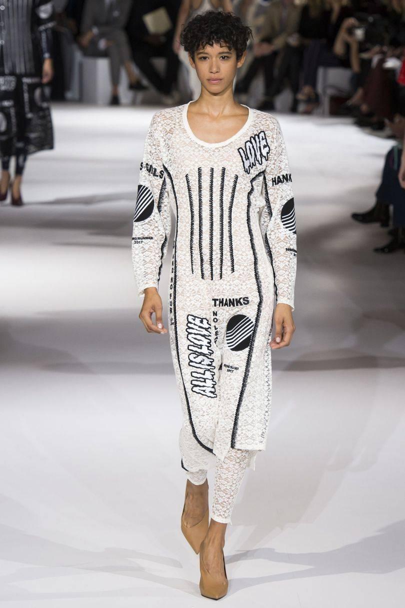 fae1ed2cba Suzy Menkes reviews Stella McCartney spring summer 2017 Paris Fashion Week