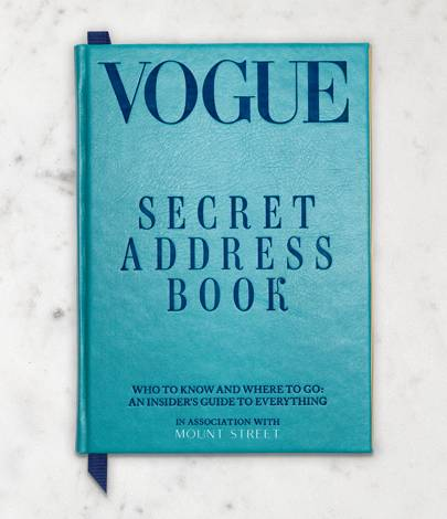 Vogue's Secret Address Book