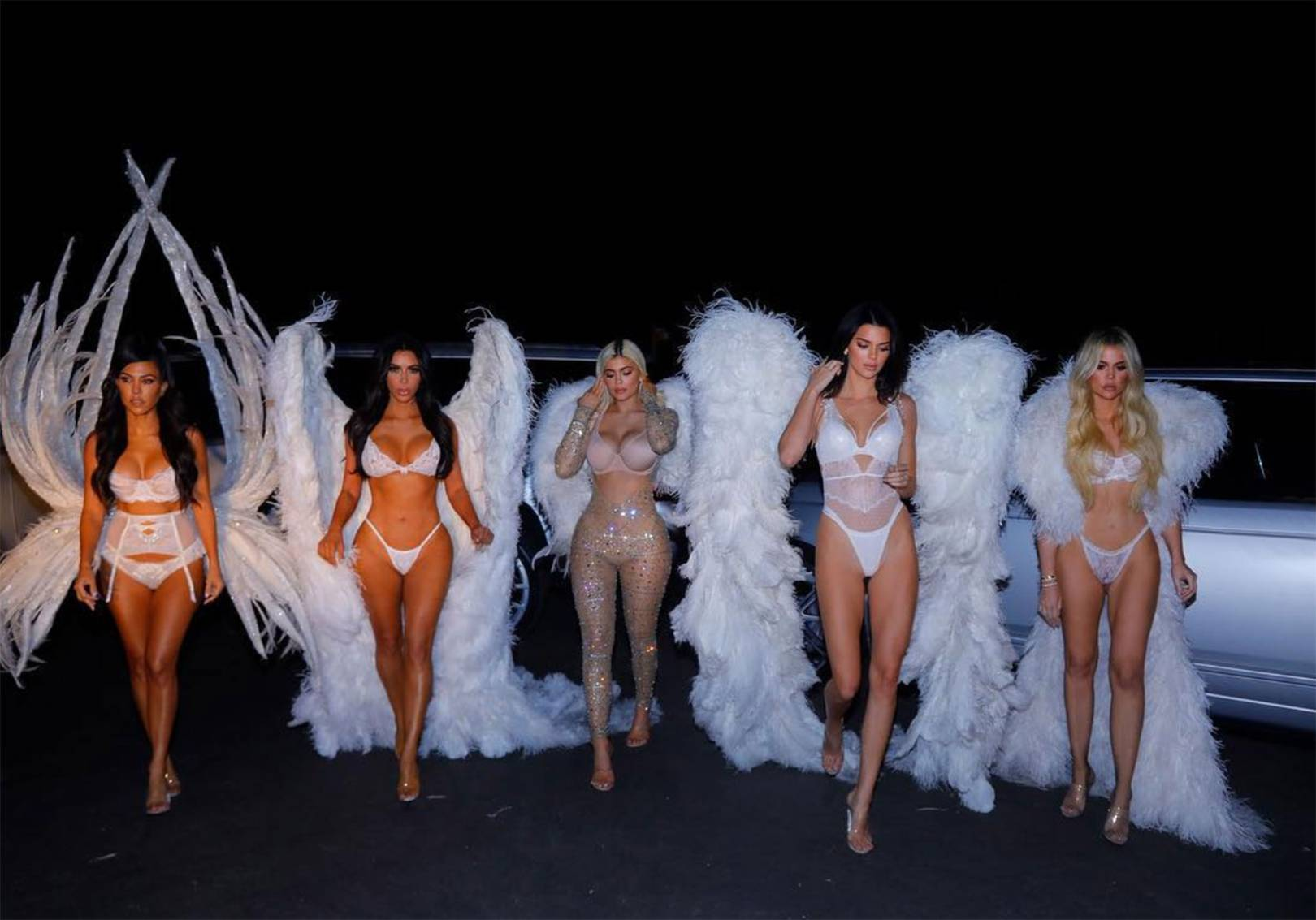 c9b1a310a02 Why Did The Kardashian Jenner Sisters Dress As Victoria s Secret Angels For  Halloween