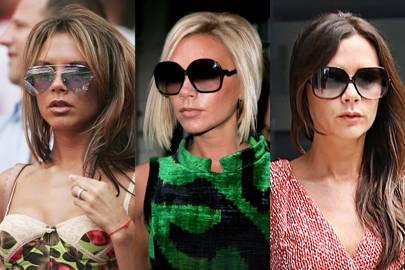 Victoria Beckham's oversized sunglasses