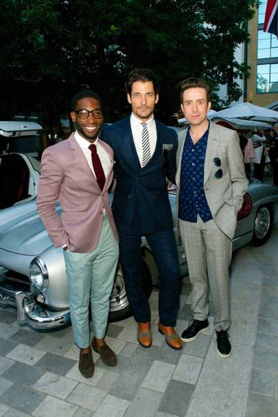GQ London Collections: Men Closing Dinner, Ham Yard Hotel, London - June 17 2014