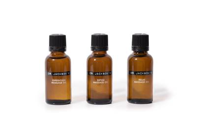 Dr Jackson's Massage Oil: Expedition, Detox and Relax