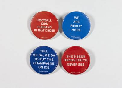 GIRLFANS Protest Pins