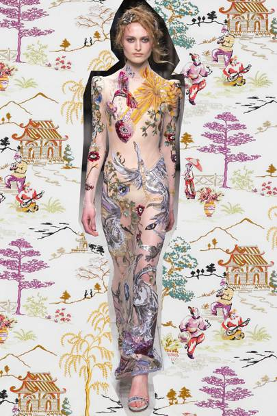 The vogue guide to wallpapers british vogue - Gaston y daniela cortinas ...