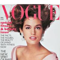 Vogue cover, April 1987