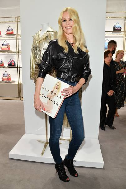 Claudia Schiffer Book Launch, Milan Fashion Week - September 23 2017
