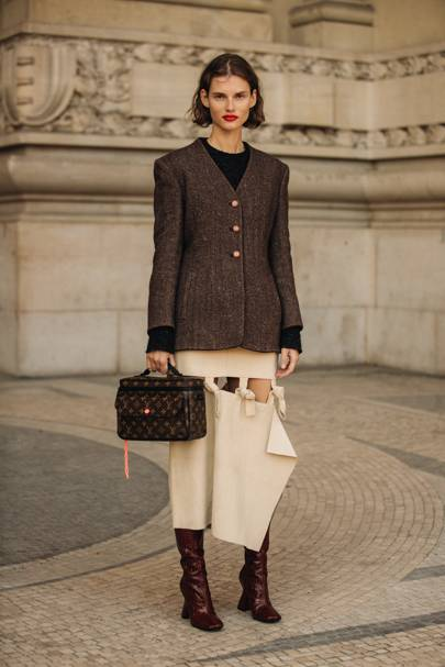 A Classic Workwear Top-Handle Tote