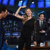 Late Night With Jimmy Fallon, New York - January 6 2014