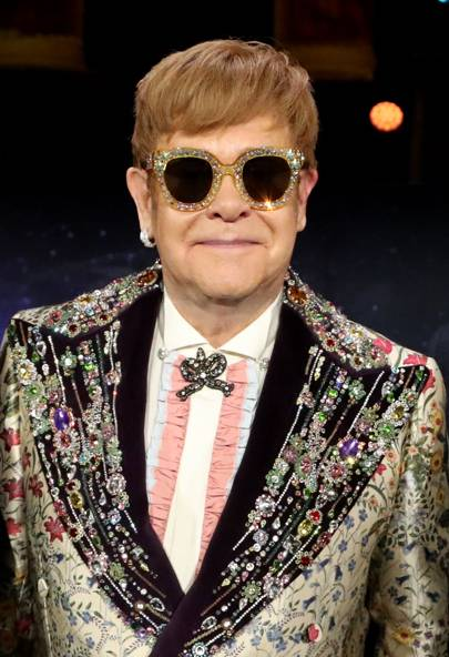 b6d12336c Gucci To Outfit Elton John For His Farewell Tour | British Vogue
