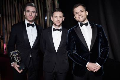 Richard Madden, Jamie Bell and Taron Egerton