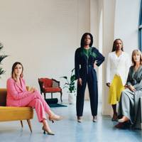 Founding members Gina Martin, Otegha Uwagba, Sharmadean Reid and Skye Gyngell