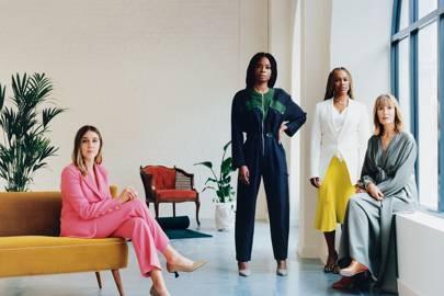 Founding members Gina Martin, Otegha Uwagba, Sharmadean Reid and Skye Gyngell