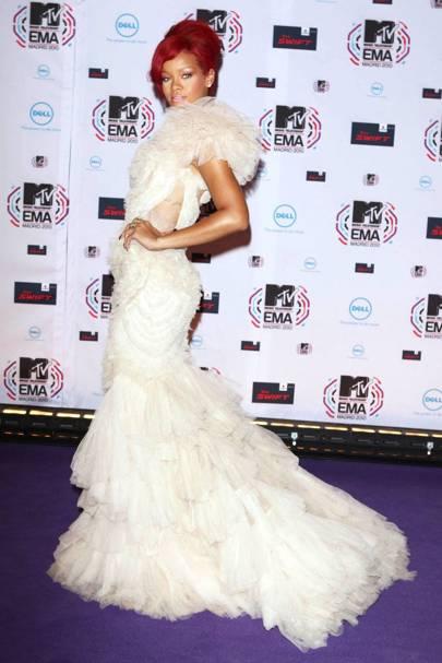 Rihanna at the 2010 MTV Awards