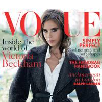 Victoria Beckham for Vogue's August Issue