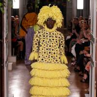 Fringing, tassels and pom poms abounded