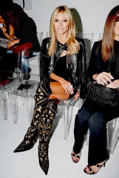 Versace show - January 19 2014