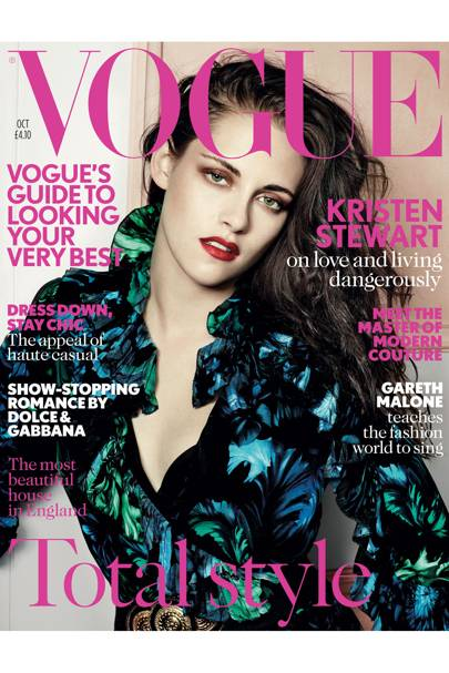 Vogue cover, October 2012