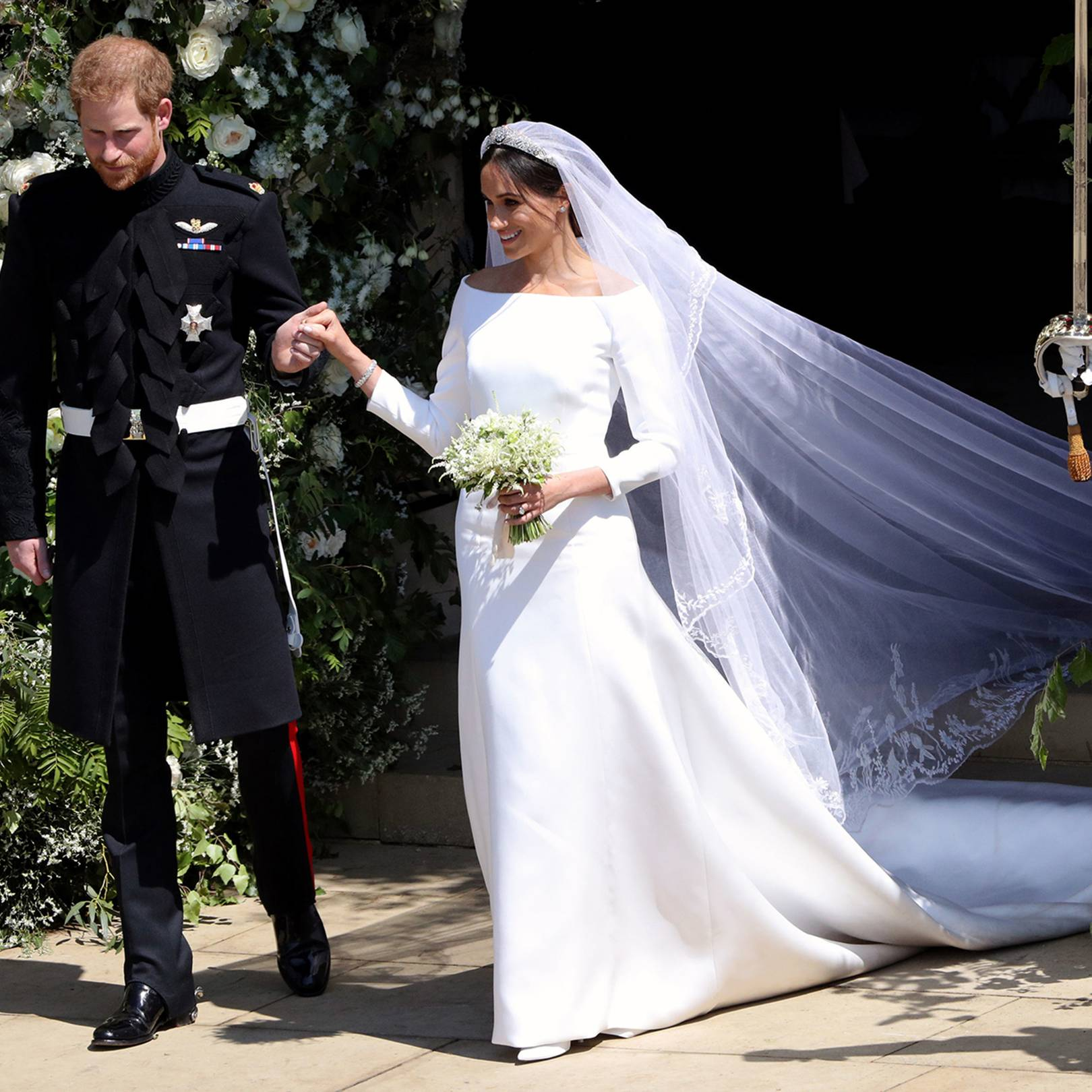 0e1e5af351c3 The Most Iconic Celebrity Wedding Dresses Of All Time | British Vogue