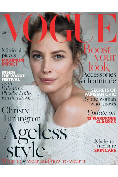 Vogue cover, July 2014