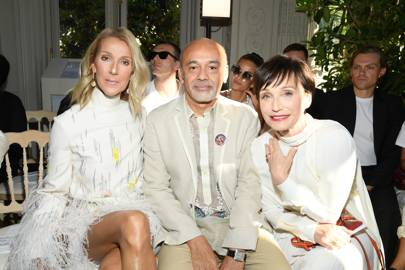 What Were Gwyneth Paltrow, Naomi Campbell & Céline Dion Talking About On The Valentino Front Row?