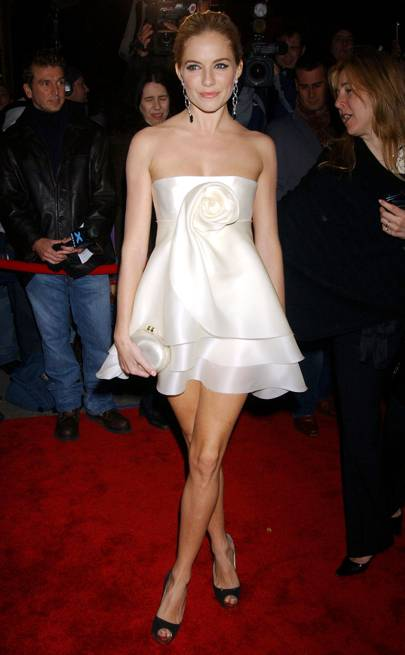 Sienna Miller at Marchesa's second anniversary party in 2006