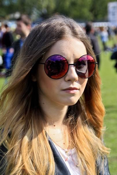 Adina Ilie, student
