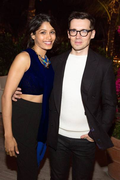 mytheresa.com Erdem dinner, Miami Beach - December 3 2014