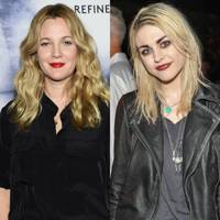 Drew Barrymore and Frances Bean Cobain