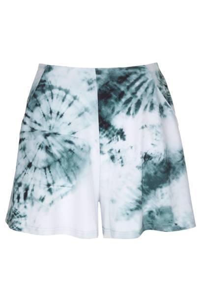 Tie-dye jersey shorts, £35
