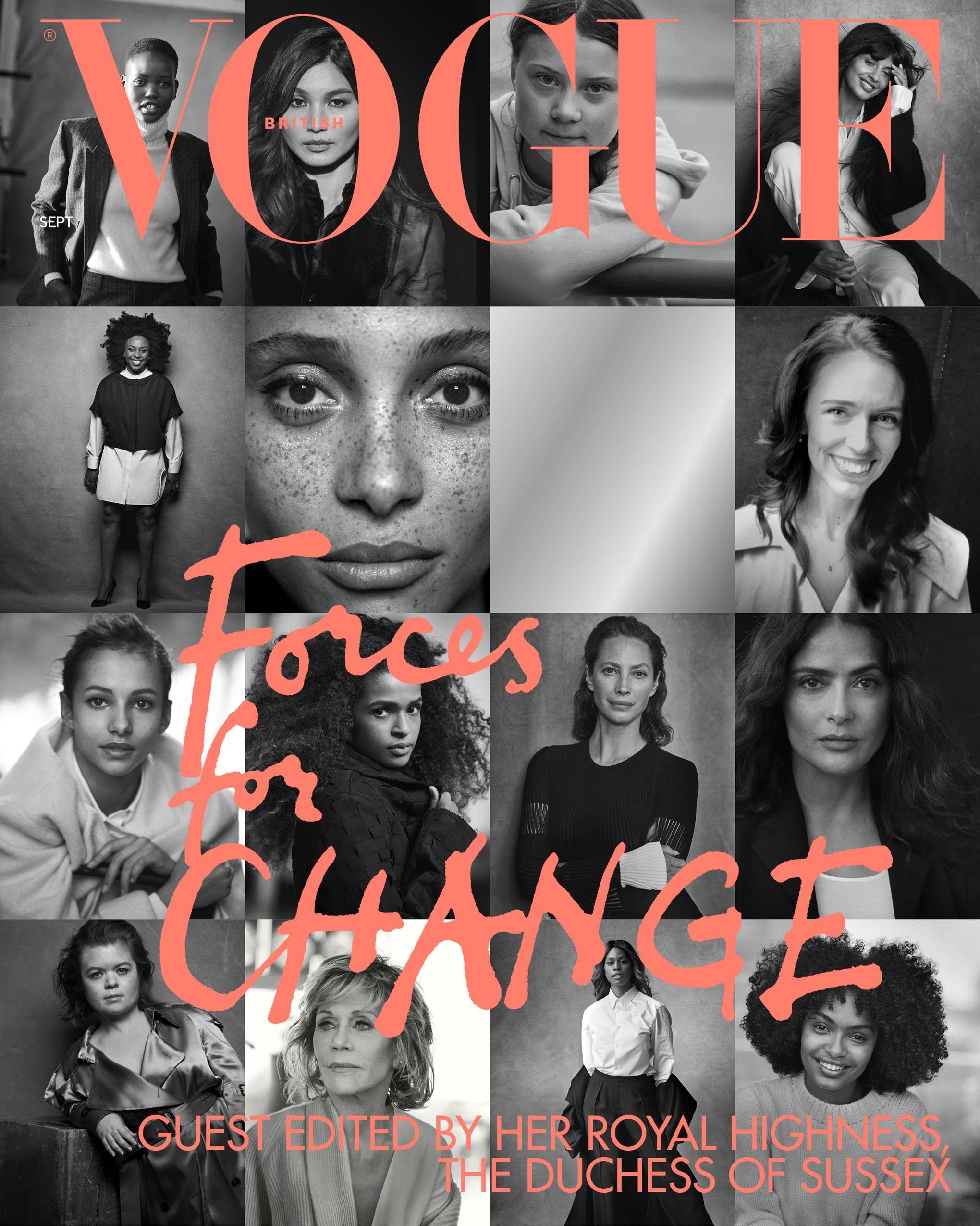 Image result for vogue september 2019 issue cover