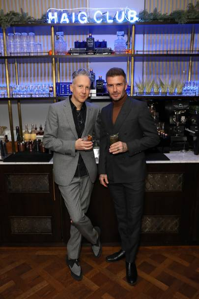 David Beckham and Jefferson Hack host the Haig Club House Party at Laylows, London – December 3 2018