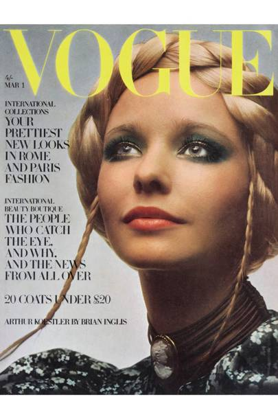 Vogue Cover, March 1970