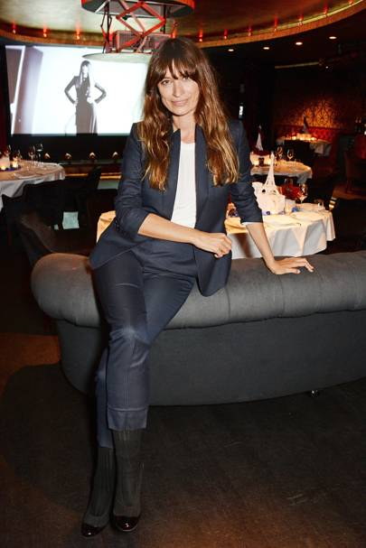 Lancôme and Caroline de Maigret London Fashion Week dinner - September 15 2014