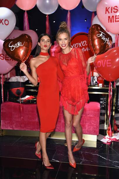 Victoria's Secret Valentine's Event, New York - February 7 2017