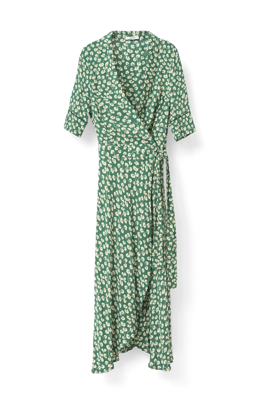 8880f2c2 The Ganni Wrap Dress That Suits Everyone | British Vogue