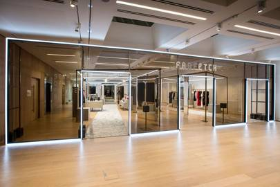 The launch of Farfetch's Store of the Future