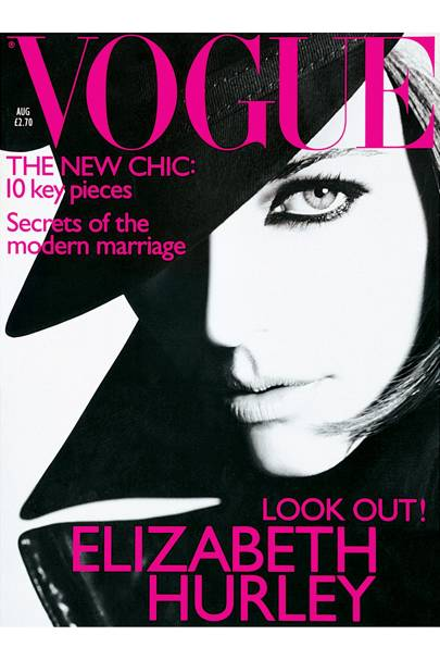 Vogue cover, August 1995