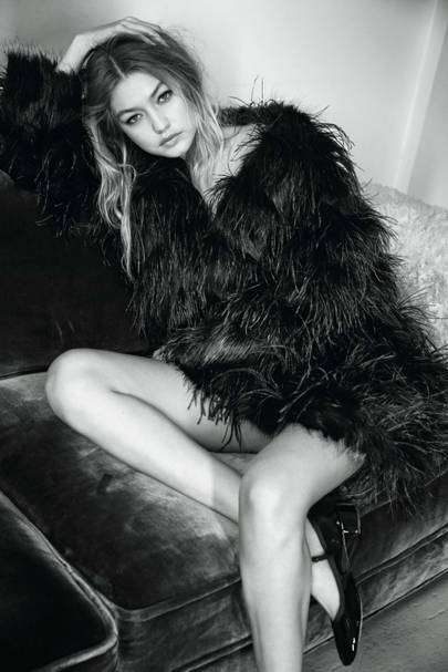 Gigi Hadid - Vogue January 2016
