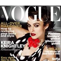 Vogue cover, January 2011